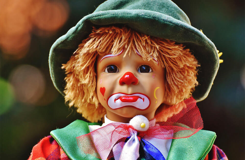 Clown Doll Free Jigsaw Puzzles Online