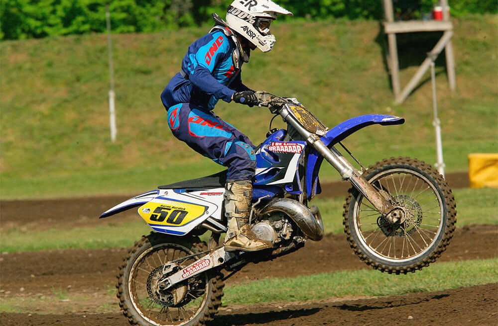 dirt racing bike