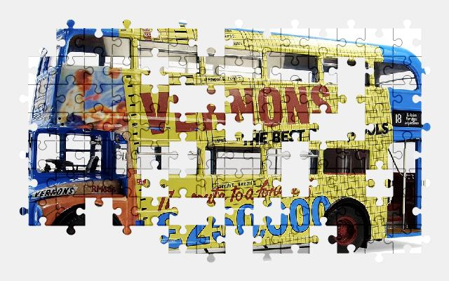 free jigsaw puzzle online bus,transport,vehicle