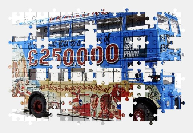 free jigsaw puzzle online vehicle,bus