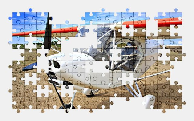 free jigsaw puzzle online aircraft,sky,plane
