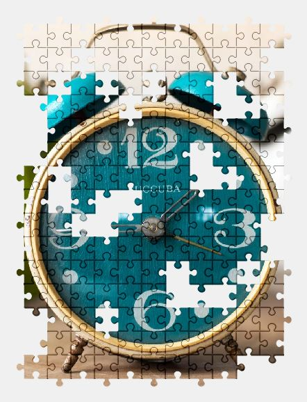 free jigsaw puzzle online alarm,clock,time,retro