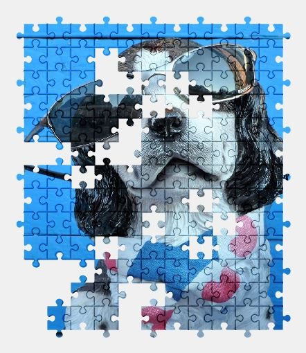 free jigsaw puzzle online animal,dog,funny