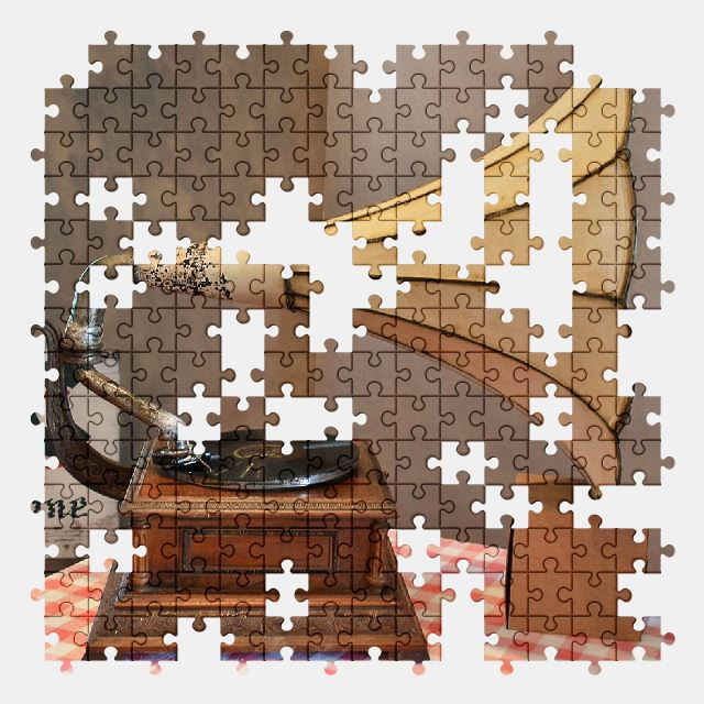 free jigsaw puzzle online antique,music
