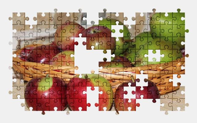 free jigsaw puzzle online apple,fruit,fruits,food