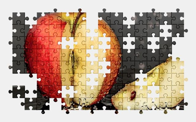 free jigsaw puzzle online apple,fruit,food