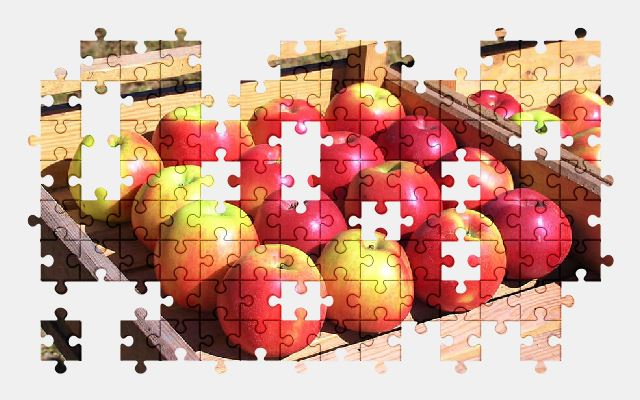 free jigsaw puzzle online apple,fruit