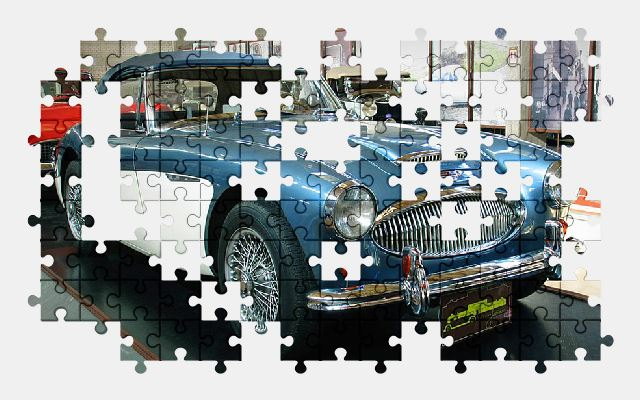 free jigsaw puzzle online auto,automobile,vehicle,car,old,antique
