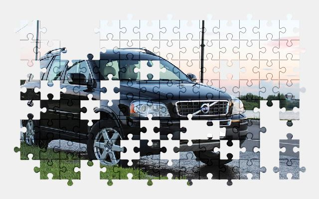 free jigsaw puzzle online auto,car,road,volvo,vehicle,automobile