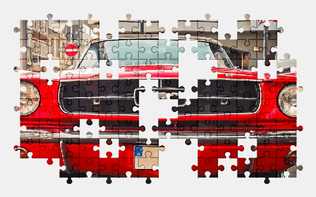 free jigsaw puzzle online auto,ford,oldtimer,vehicle,mustang,car,automobile