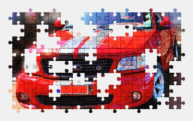 free jigsaw puzzle online auto,ford,vehicle,car,automobile