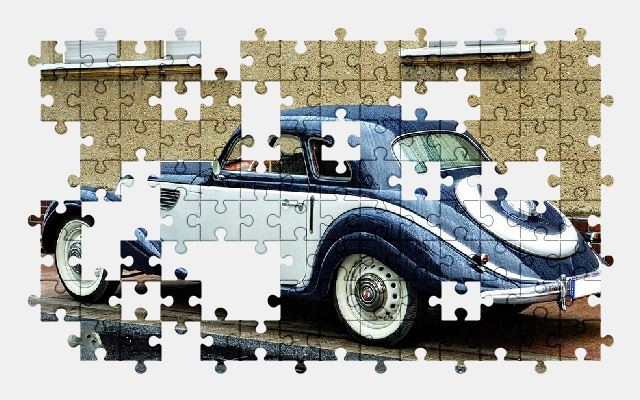 free jigsaw puzzle online auto,old,oldtimer,car,automobile,retro