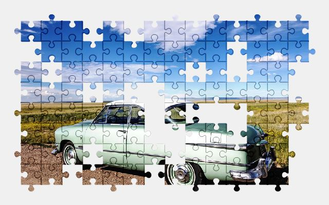 free jigsaw puzzle online auto,old,car,automobile