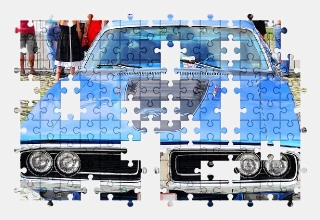 free jigsaw puzzle online auto,vehicle,retro,classic,american,usa,dodge,car,automobile