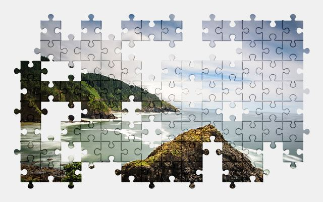 free jigsaw puzzle online beach,island,nature,ocean