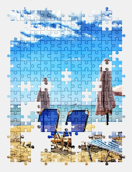 free jigsaw puzzle online beach,sun,holiday,nature