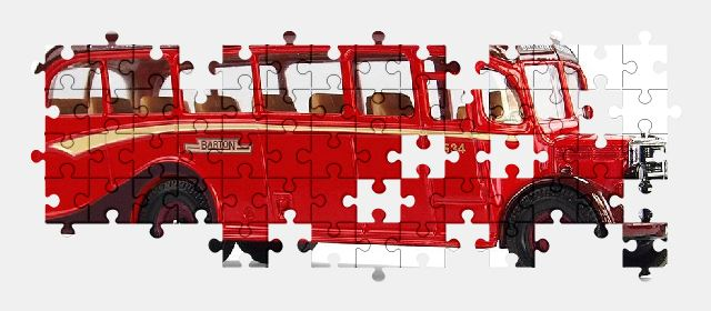 free jigsaw puzzle online vehicle,bus,transport