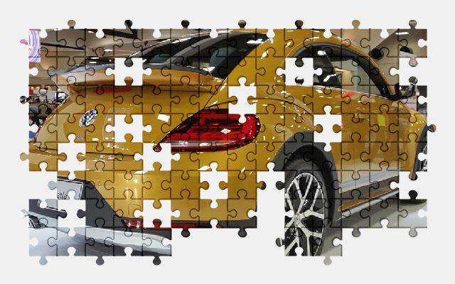 free jigsaw puzzle online beetle,car,volkswagen,classic,vehicle
