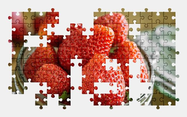 free jigsaw puzzle online berry,strawberry,food