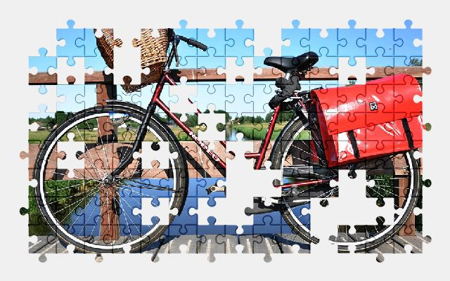 free jigsaw puzzle online bicycle,cycling,transport,bike
