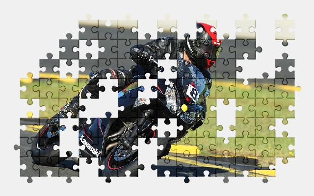 free jigsaw puzzle online biker,speed,motorcycle,race