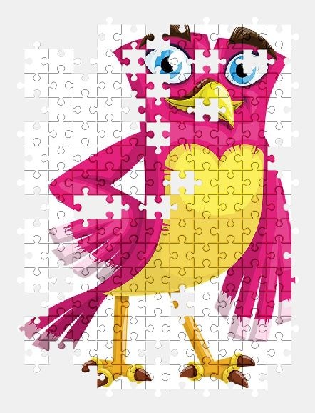 free jigsaw puzzle online bird,cute,cartoon