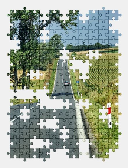 free jigsaw puzzle online sky,road,nature,travel