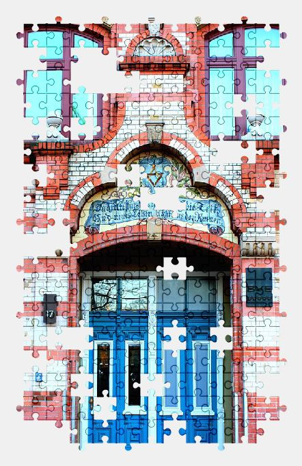 free jigsaw puzzle online building,hamburg,historically,architecture
