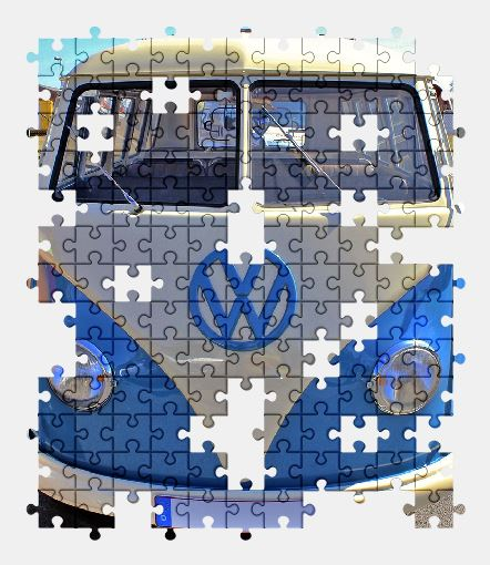 vw bus free jigsaw puzzles online. Black Bedroom Furniture Sets. Home Design Ideas