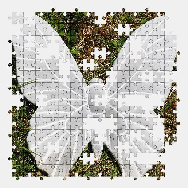 free jigsaw puzzle online butterfly,garden,decoration