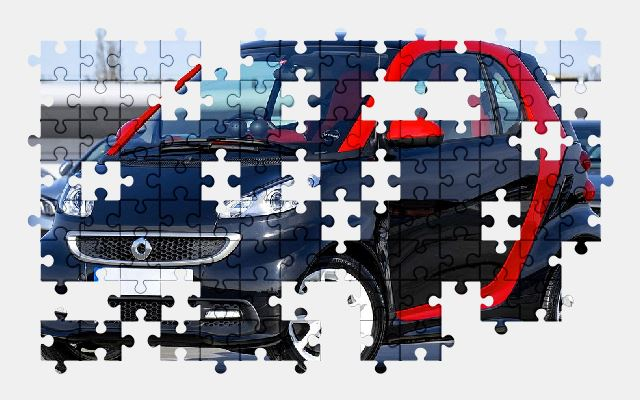 free jigsaw puzzle online car,auto,vehicle,automobile,transport,smart