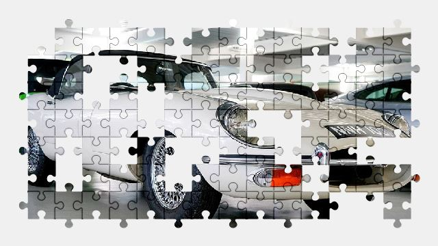 free jigsaw puzzle online car,jaguar,classic,auto,vehicle,retro,automobile