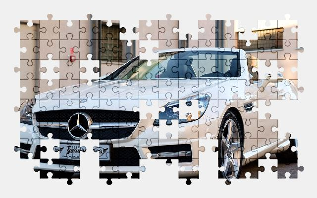 free jigsaw puzzle online car,mercedes,auto,transport,design,mercedes-benz,automobile