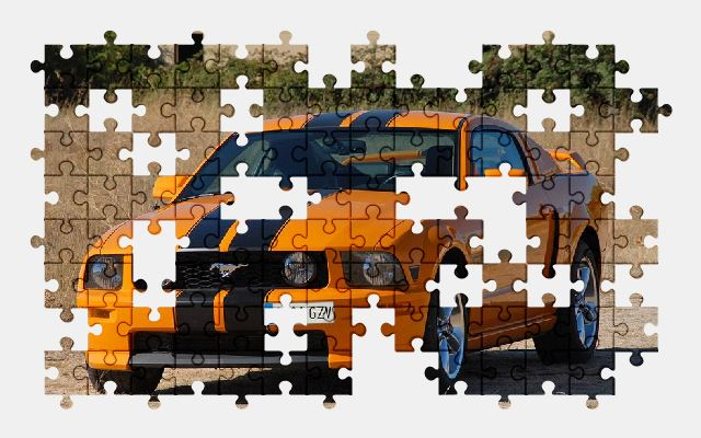 free jigsaw puzzle online car,mustang,vehicle,ford,automobile,auto,sports-car