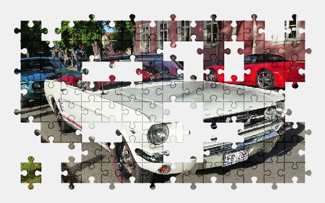 free jigsaw puzzle online car,mustang,ford,auto,automobile