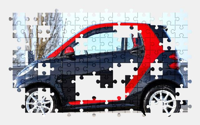 free jigsaw puzzle online car,vehicle,auto,automobile,smart