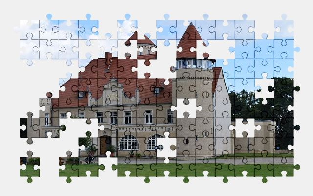 free jigsaw puzzle online castle,historically,architecture,building