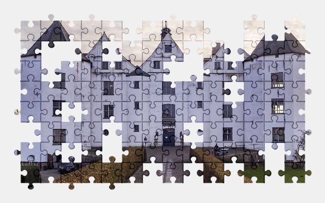 free jigsaw puzzle online castle,germany,architecture,building