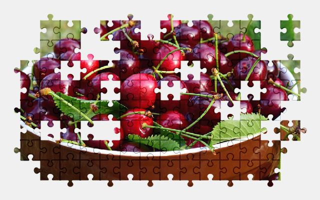 free jigsaw puzzle online cherry,fruit,food
