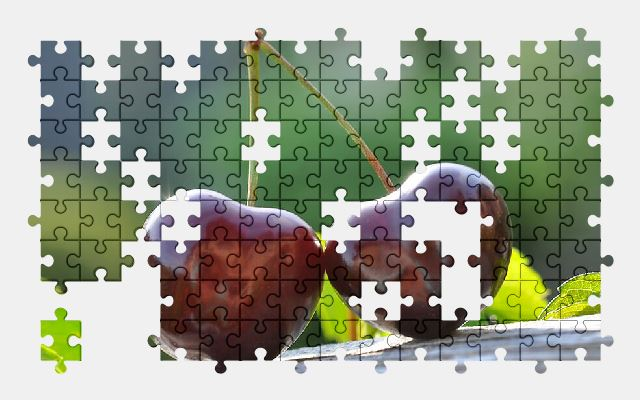 free jigsaw puzzle online cherry,fruit,food,berry