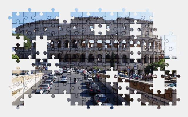 free jigsaw puzzle online rome,italy,building,architecture,city