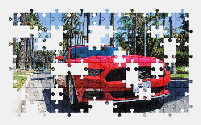 free jigsaw puzzle online ford,mustang,car,sports-car,auto