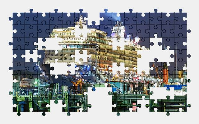 free jigsaw puzzle online ship,boat,port