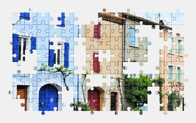 free jigsaw puzzle online city,architecture,street