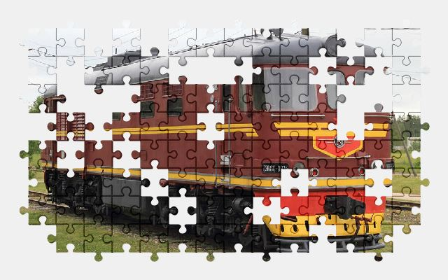 free jigsaw puzzle online estonia,haapsalu,railway,museum,train,locomotive