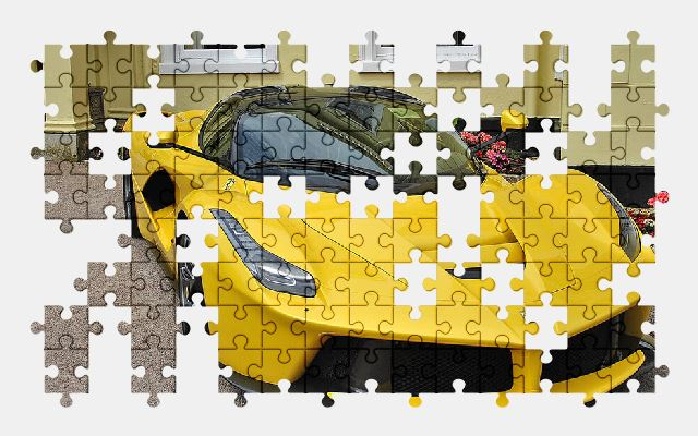free jigsaw puzzle online ferrari,car,vehicle,auto,automobile,speed
