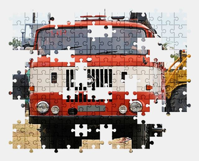 free jigsaw puzzle online fire,vehicle,fire-truck