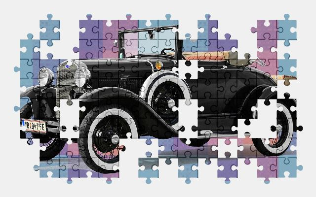 free jigsaw puzzle online ford,oldtimer,classic,automobile,auto,vehicle
