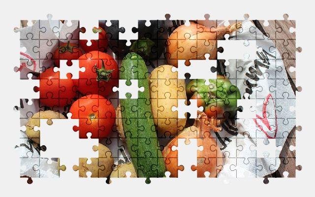 free jigsaw puzzle online vegetables,vegetable,food