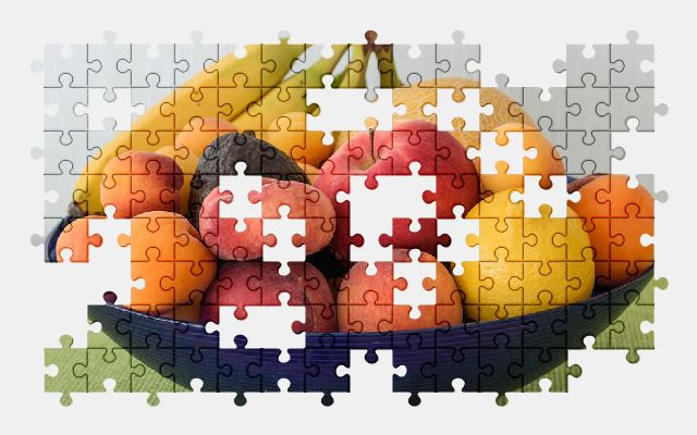 free jigsaw puzzle online fruits,food,fruit